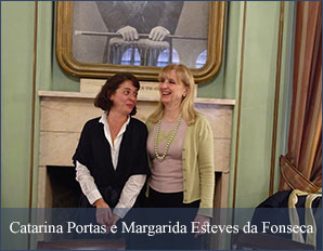 Catarina Portas e Margarida Esteves da Fonseca