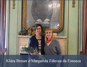 Klára Breuer e Margarida Esteves da Fonseca