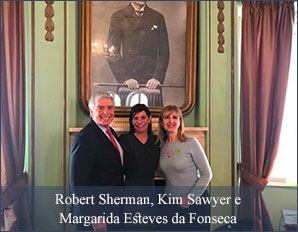 Robert Sherman, Kim Sawyer e